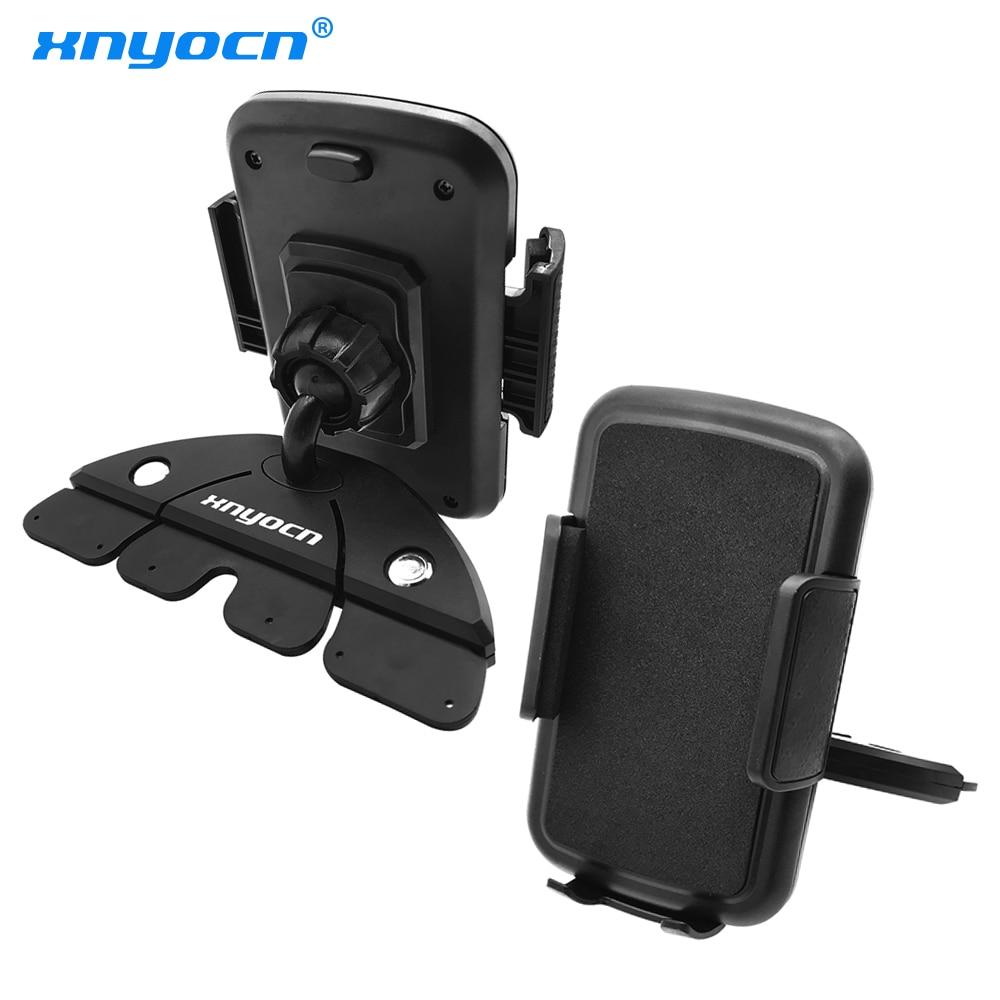 Neues Produkt 55-85 mm 360 Grad verstellbarer CD-Steckplatz Voiture Auto Support Fixation Smartphone-GPS-Halter und universeller Telefonhalter