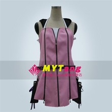 Hot Game Anime Kingdom Heart II Kairi Cosplay Costume Lolita Party Pink Dress Free Shipping