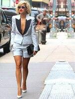 Pants suit summer Womens Business Suits 2 Piece Set Formal Pant Suits For Weddings Tuxedo Female Uniform Ladies Formal Suits