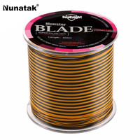 Hot Sale 500 M PE Stranded Fishing Line Wire Nylon Super Strong Line Japan Multifilament Fishing