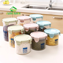 Transparent Plastic Sealed Cans Refrigerator Preservation Kitchen Grain Storage Box Food Tanks