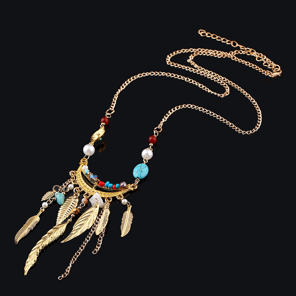 3x Vintage Women Gold Star Moon Sun Pendant  Black Cord Choker Necklace FO