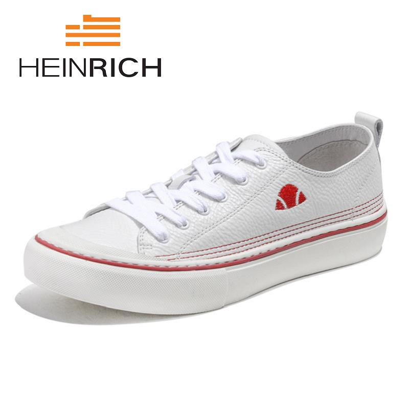 HEINRICH New Brand Men Shoes Lightweight Breathable Lace Up Leather Loafers Sneakers Fashion Casual Shoes Scarpe Uomo Di MarcaHEINRICH New Brand Men Shoes Lightweight Breathable Lace Up Leather Loafers Sneakers Fashion Casual Shoes Scarpe Uomo Di Marca