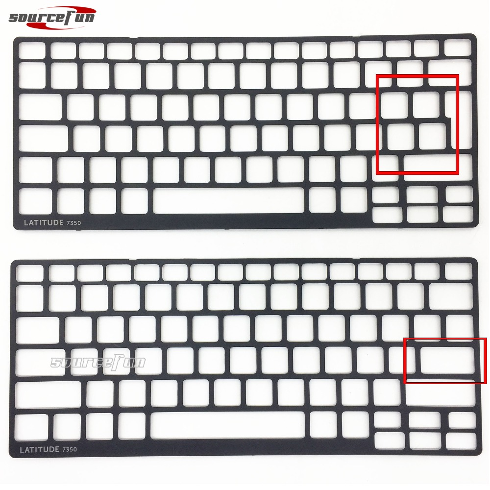 Laptop Keyboard For Dell Latitude 7350 US Keyboard Frame