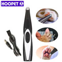 HOOPET Dog Grooming Machine Hair Trimmer Professional Clipper USB Rechargeable HairCut Remover Cutter