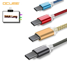 9mm Lange Usb Typ C Kabel Für Blackview Bv9700 Bv9600 Pro Bv6800 Bv9500 Oukitel K12 Z2 Pro Power Erweitert ladekabel Usb-c