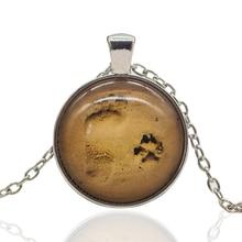 pierre griffes pendentif collier