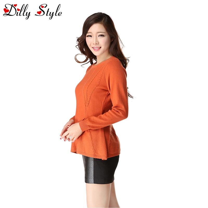 orange Pulls Féminine Femmes Doux Chandails De Cachemire Chaud Mode Automne D'hiver Qualité La blue dl9810 khaki D'o grey cou White Et Taille Haute 51qPwXan