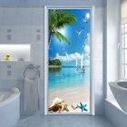 Beach Sea View Door ...