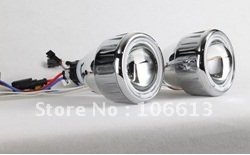 """New Arrivals!High Quanlity Free Shipping 12V 2.5"""" HID BI-Xenon projector HALO lens CAR HEAD light T228 wholesale and retail"""