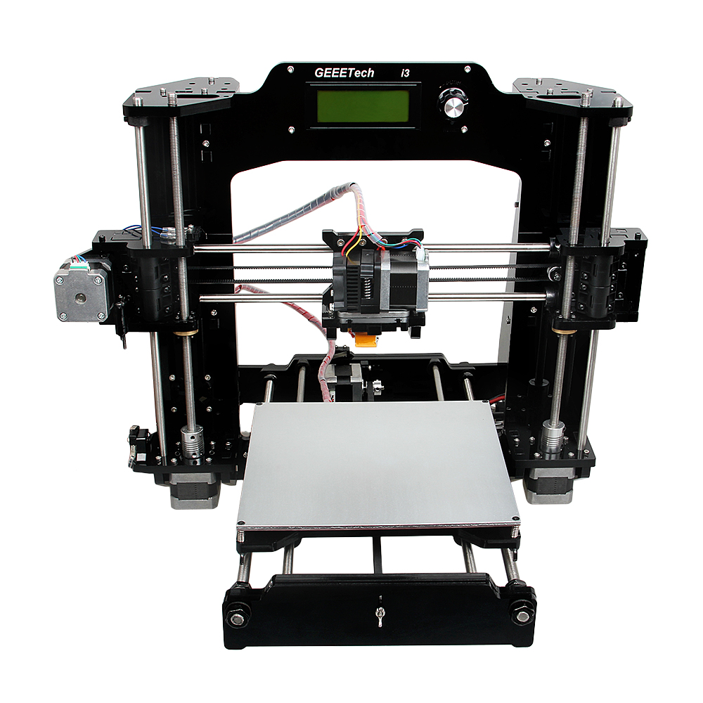 Prusa I3 3D Printer DIY KIT I3 X Industrial Grade 200*200*170mm Support 6 3D Filament 2017 newest tevo tarantula prusa i3 3d printer diy kit