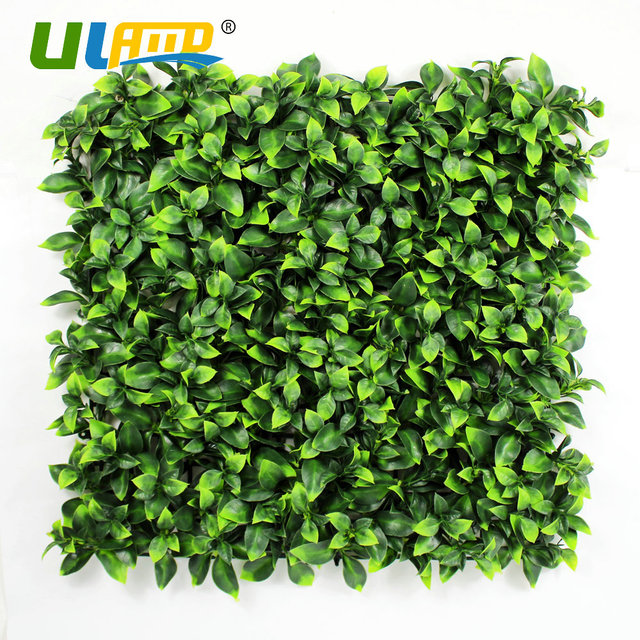 ULAND Artificial Boxwood Hedge Plastic Plants Panels Privacy ...