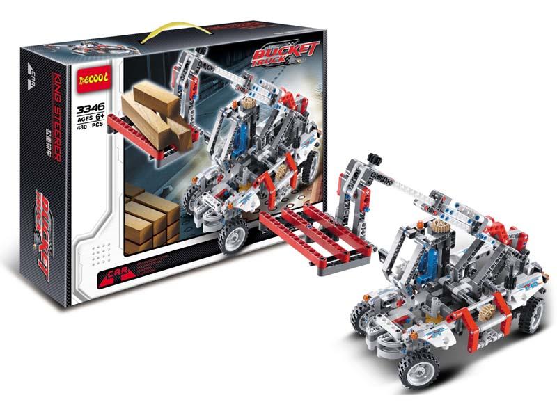 480pcs decool technic 3346 lepin technic derrick Building Block Set Toys lepin Compatible original blocks technic 3346 decool 2017 new 3340 technic transport