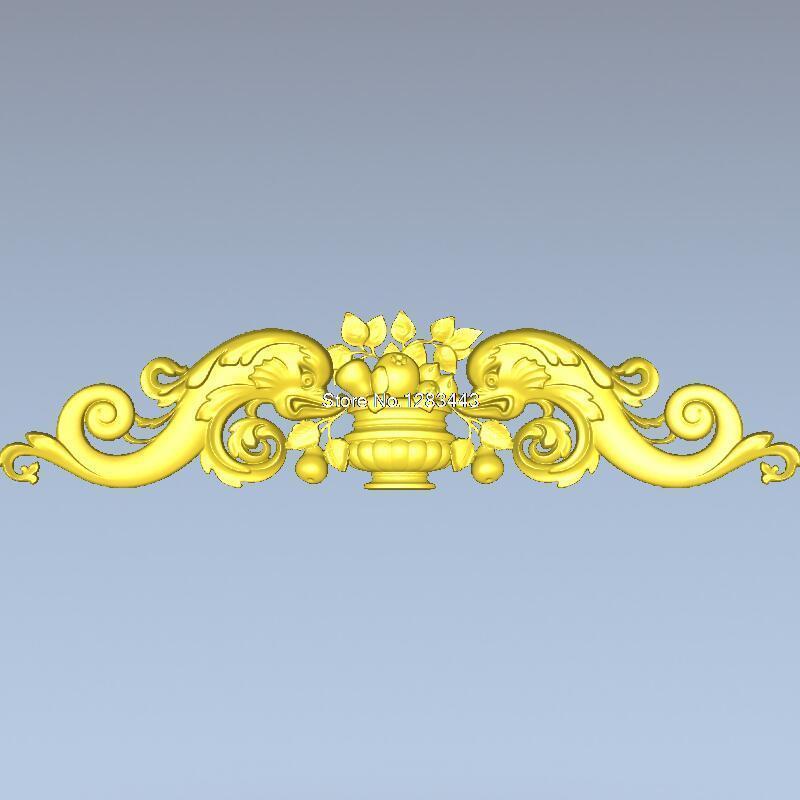 High Quality New 3D Model For Cnc 3D Furniture Decoration 3D Carved Figure Sculpture Machine In STL File Decor_115