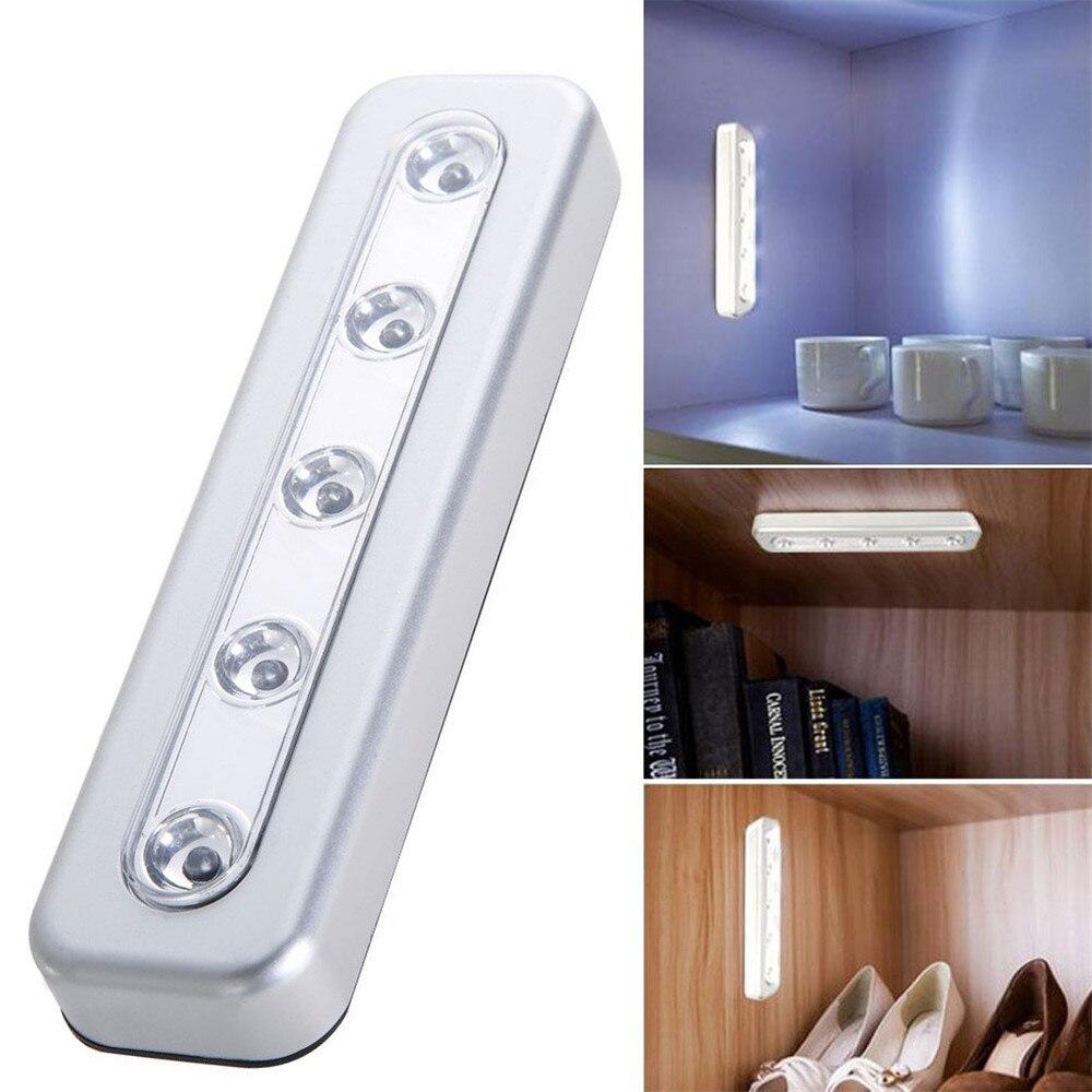 Super bright led under cabinet lighting - 5 Led Super Bright Closet Kitchen Under Cabinet Counter Lighting White Easy Installation China