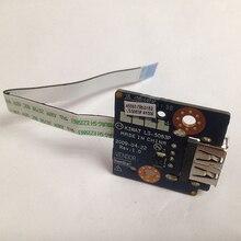 Новый Оригинальный USB Совет ж/Кабель Для Lenovo G550 G555 Series, P/N LS-5083P
