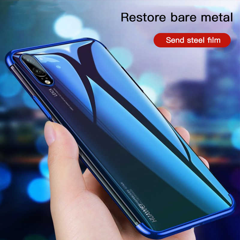 Luxury Silicone Phone Case For Huawei P20 Lite P30 P8 P10 P9 Lite 2017 Mate 20 X 10 Pro P Smart P10 Plus Soft Clear Slim Cover
