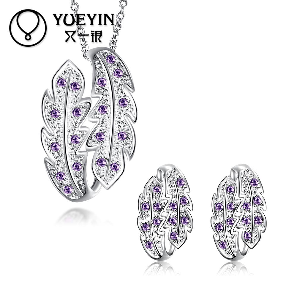 New Jewelry Rhinestone Necklace Stud font b Earrings b font Jewelry Sets nigerian wedding african beads
