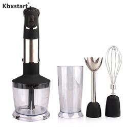 Kbxstart 850W Electric 4-in-1 Handheld Food Mixer 6 Speed Hand Blender Meat Grinder Food Processor Portable Mixer EU/UK/US Plug