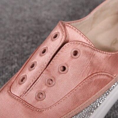 Épais Noir pink Femmes Pour Unijambiste Fond Chaussures Cuir Mocassins Ronde Femme Tête De En Décontracté n6qnFOXpv