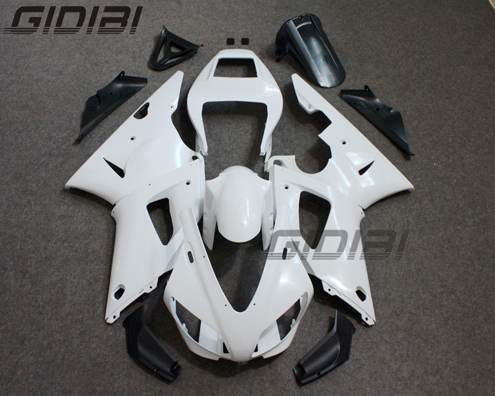 Unpainted ABS Injection Drilled Bodywork Fairing Kit For YAMAHA YZF R1 YZF R1 1998 1999 98 99 +4 Gift