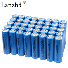 5-40Pcs ICR18650 Rechargeable Battery 18650 2600mAh li ion Batteries 3.7V for samsung Flashlight notebook