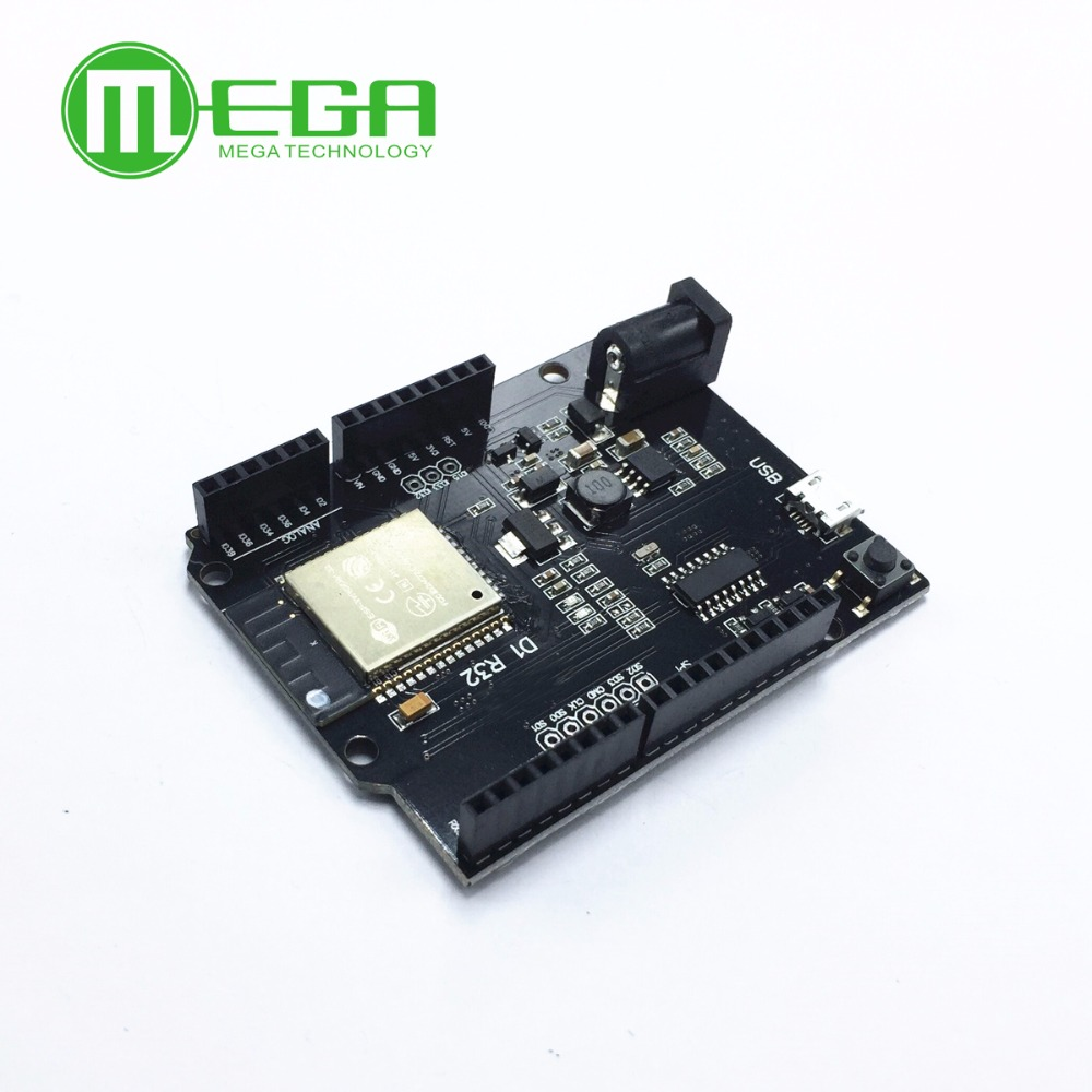 For Wemos D1 Mini For Arduino UNO R3 D1 R32 ESP32 WIFI Wireless Bluetooth Development Board CH340 4M Memory One