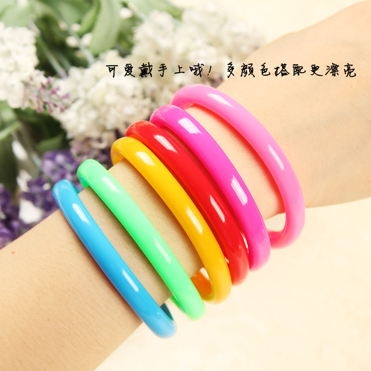 1200 pcs Flexible Ball Pen Cute Soft Plastic Bangle Bracelet Wristlet Circlet Ballpoint Pens School&Office Supplies Random Color mymei pokemon go pikach wristband silicone bracelet party gifts bangle cute fashion