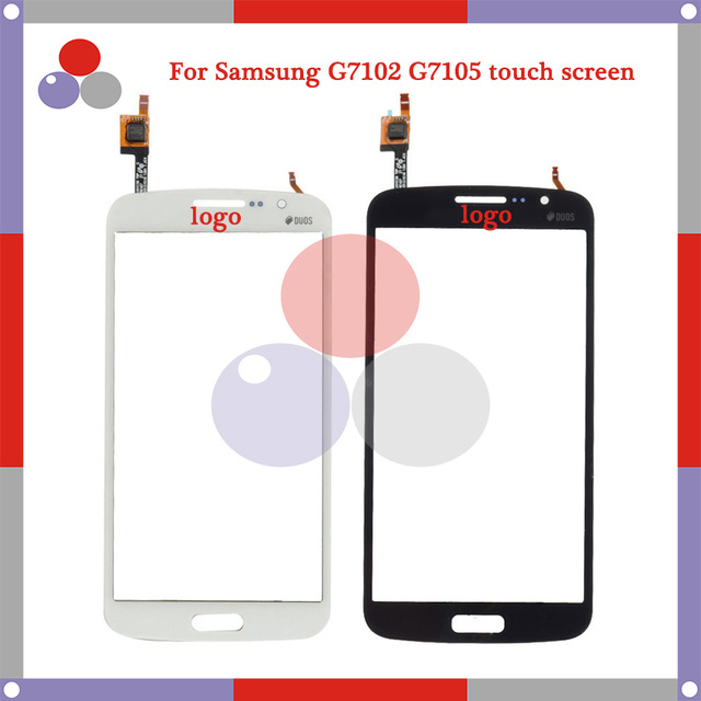 High Quality For Samsung Galaxy Grand 2 G7102 G7105 G7106 G7108 DUOS Touch Screen Panel Sensor Digitizer Outer Glass Lens