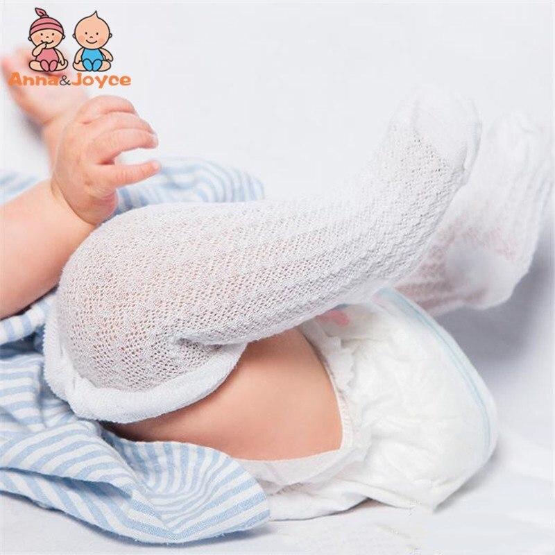Socks, Tights & Leggings 100% Quality 10pairs/lot Baby Socks Knee High Infant Boys Girls Good Air Permeability Leg Warmer Children Newborn Kids Foot Wear Cotton Mesh Tights & Stockings