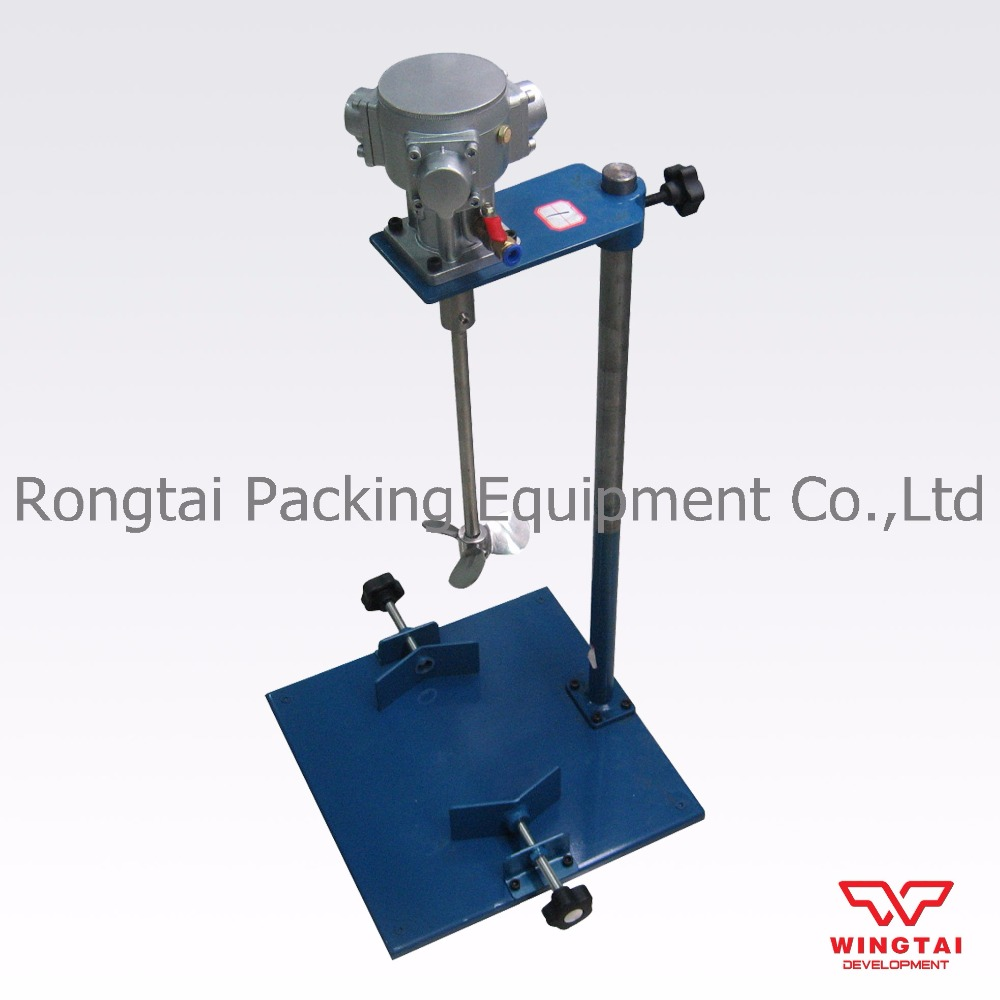 EA230 Manual  Lifting Paint Agitator For Liquid Pneumatic Ink Mixing Machine 50L Capacity ea ac87
