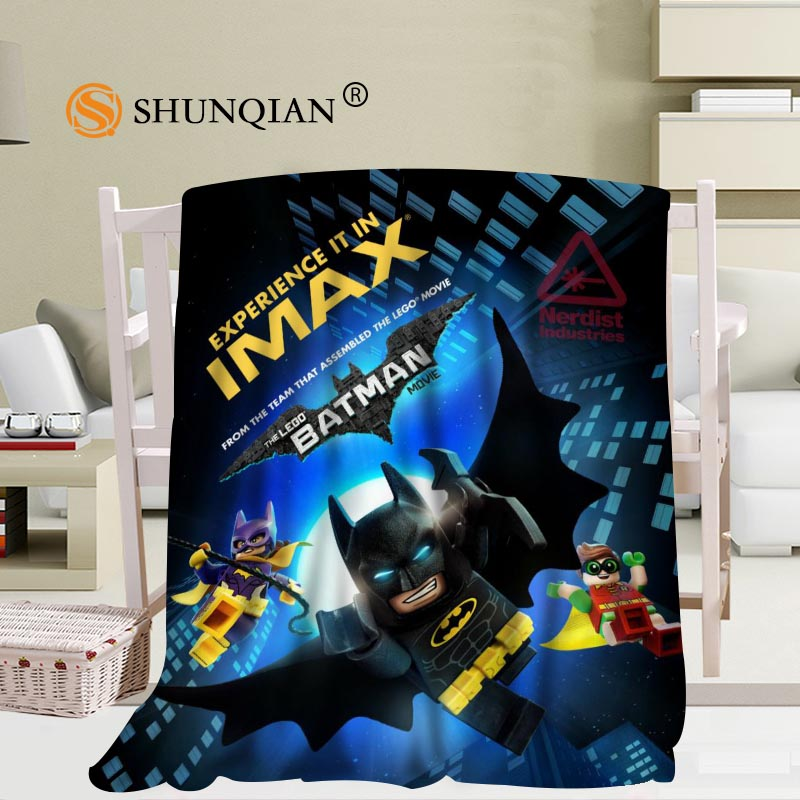 Groovy Us 26 23 36 Off Custom The Lego Batman Blanket Flannel Fabric 56X80Inch 50X60Inch 40X50Inch Sofa Bed Throw Blanket Kid Adult Warm Blanket In Squirreltailoven Fun Painted Chair Ideas Images Squirreltailovenorg