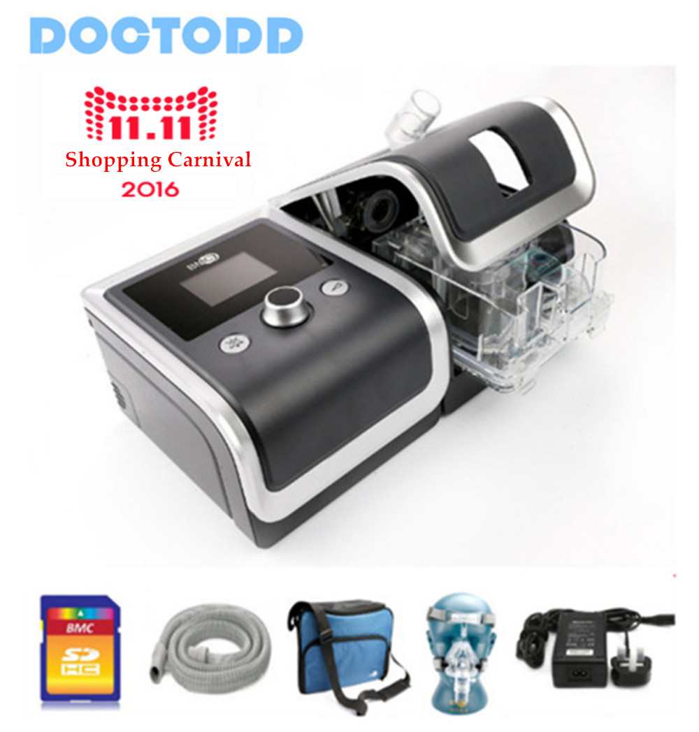 Doctodd GII CPAP E-20CHO Anti Snoring CPAP Respirator Ventilator for Sleep Apnea OSAHS OSAS Snoring People W/ Parts 4GB SD Card цены онлайн