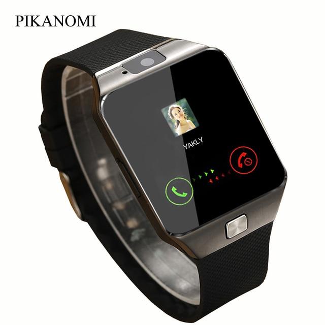Smart Watch DZ09 2016 Gold Orange White Black Smartwatch Bluetooth Watches For IOS Android