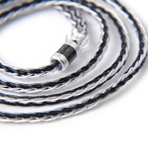 Image 3 - NICEHCK 8 コア銀はアップグレードケーブル TypeC タイプ C/3.5/2.5/4.4 ミリメートル MMCX/ 2Pin ため ZS10 ZSX C10 C12 C16 V90 NX7 プロ/DB3 BL 03