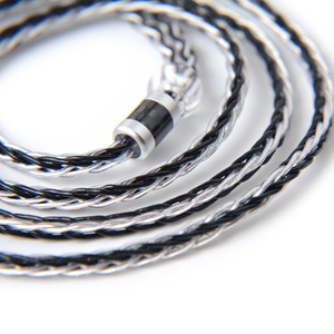 Image 3 - NICEHCK 8 çekirdekli gümüş kaplama yükseltme kablosu C tipi C tipi/3.5/2.5/4.4mm MMCX/ 2Pin için ZS10 ZSX C10 C12 C16 V90 NX7 PRO/DB3 BL 03
