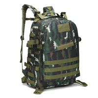 2017 Luxury Brand Men Camping Travel Military Army Bags Outdoor Sport 40L CapacityOxford Rucksacks Camouflage Hiking