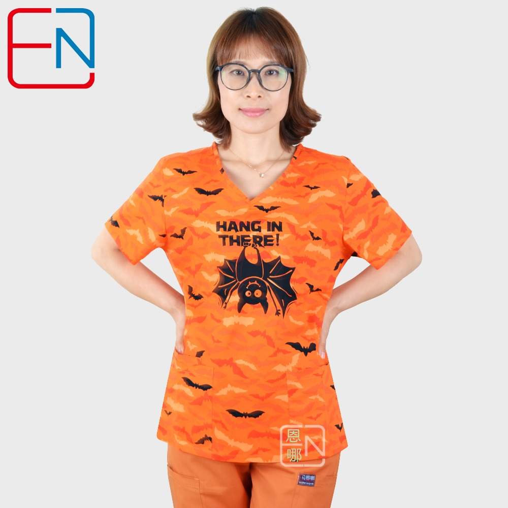 Hennar Women Medical Scrub Sets  ,women Scrub Tops,women Medical Uniforms