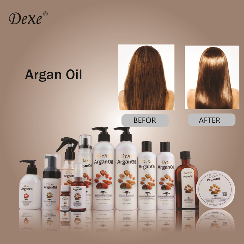 Dexe Brand Keratin Hair Mask Argan Oil For Hair Treatment