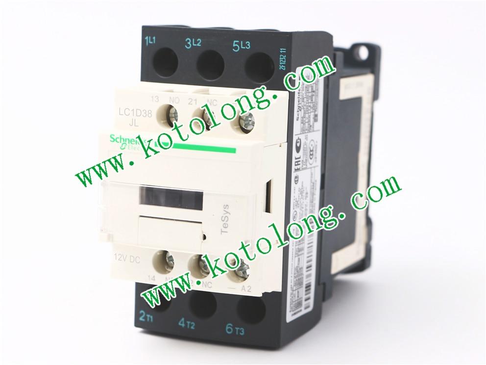 DC Contactor LC1D38 LC1-D38 LC1D38JL 12VDC LC1D38ML 220VDC LC1D38NL 415VDC LC1D38ZL 20VDC tesys k reversing contactor 3p 3no dc lp2k1201md lp2 k1201md 12a 220vdc lp2k1201nd lp2 k1201nd 12a 60vdc coil
