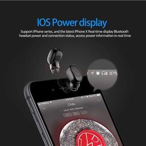 Image 4 - FANGTUOSI Mini Bluetooth Earphone Wireless Headset stereo earbuds hidden micro earpiece With Mic For iPhone X 7 Earbud Earphones