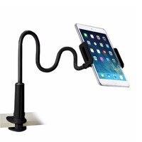 Titular Tablet, Flexível Desktop Phone Holder para Tablet Para iPad Mini Air Samsung Para Cama Preguiçoso Tablet Stands Monte grande Telefone