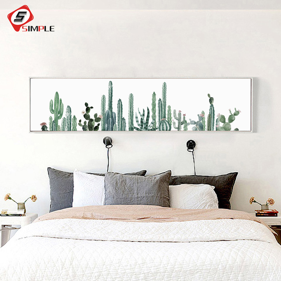 Affiche Scandinave Home 9 22 26 De Réduction Vert Plantes Cactus Affiche Impression Nordique Art Toile Peinture Mur Photo Pour Chambre Moderne Scandinave Home Decor No