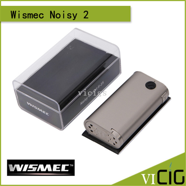 100% original wismec grillo ruidoso ii-25 caja mod powered by dual 18650 células