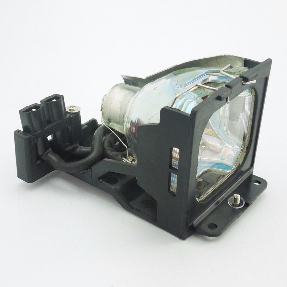 TLPLV1  Replacement Projector Lamp with Housing  for  TOSHIBA TLP-S30 / TLP-S30M / TLP-S30MU / TLP-S30U / TLP-T50 / TLP-T50M pureglare original projector lamp for toshiba tlp t70m with housing