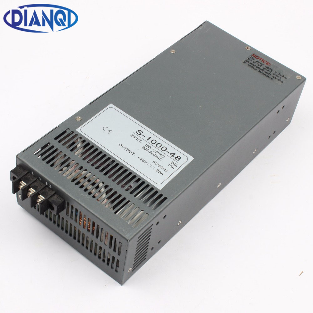 DIANQI power suply output 12V 13.5V 15V 24V 27V 36V 48V 60V 72V 90V 110V 1000w power supply transformer ac to dc power supply dc 24v 36v 48v 60v 15v 72v to 12v 4a 48w dc dc converter step down buck module power supply f electric storage battery car