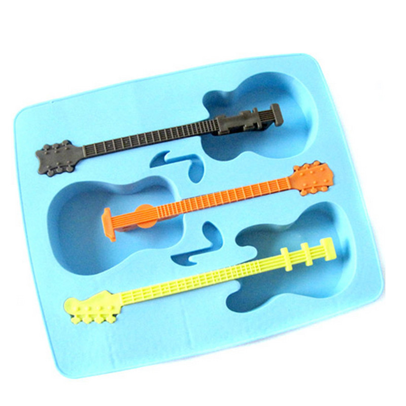 Superb Creative Guitar Shape Ice Mold Silicone Ice Maker Tools Kitchen Accessories In  Ice Cream Makers From Home U0026 Garden On Aliexpress.com | Alibaba Group