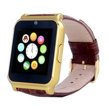 1.5นิ้วhdจอแอลซีดีทองหน้าจอสัมผัสกันน้ำsmart watchโทรศัพท์mateสำหรับa ndroid ios iphoneสำหรับsamsung note 7
