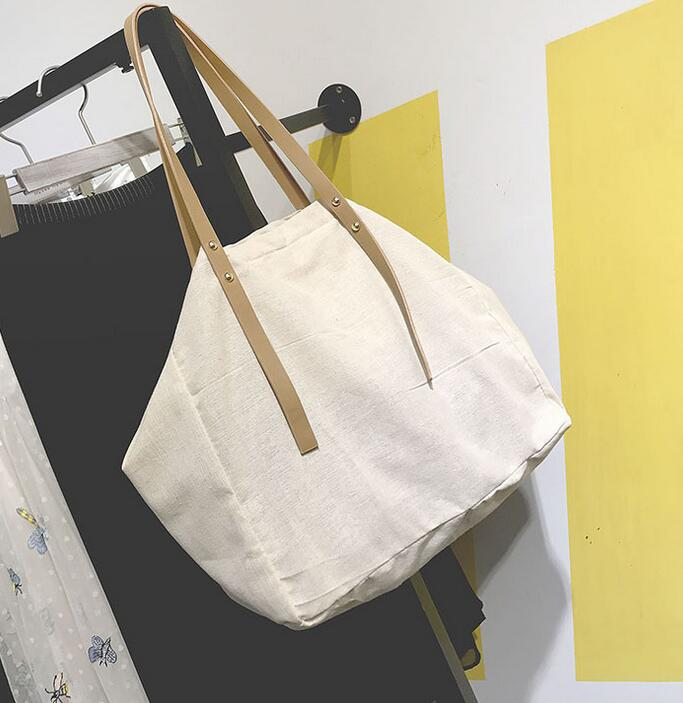 Tela Trasporto Bag 2019 Di pink Sacchetto Della Yellow Cotone Mano Personalità Spalla Ananas A Coreano Big Canapa green Stampa vHvXS