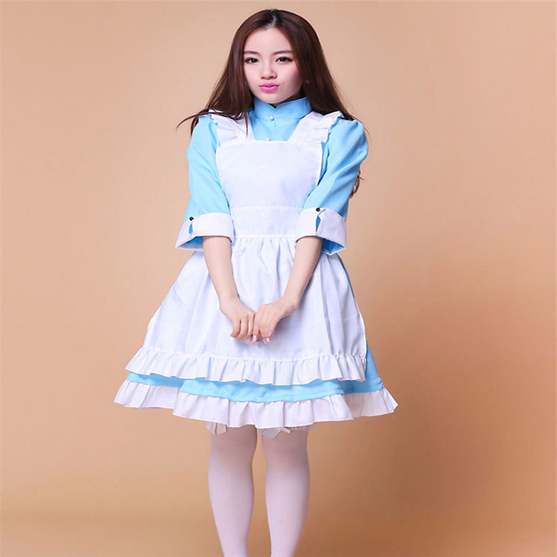 Yang Yan Project Sakura Jasmine Cosplay Cosplay Sexy Beauty Costume Japanese Anime Maid Outfit Maid Installed